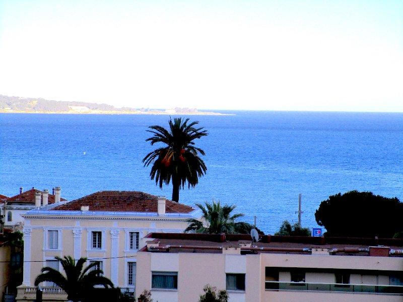 Sea view from main balcony