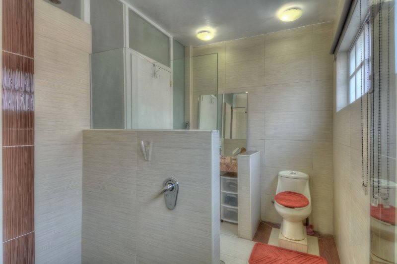 large, private bathroom