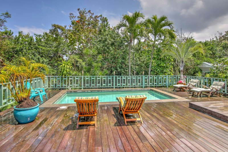 Enjoy a relaxing getaway at this 4-bedroom, 4-bathroom vacation rental house.