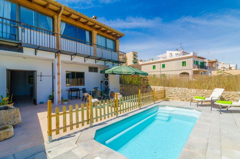 CA NANTONIA COSTA - Villa for 8 people in Montuïri, alquiler de vacaciones en Sant Joan