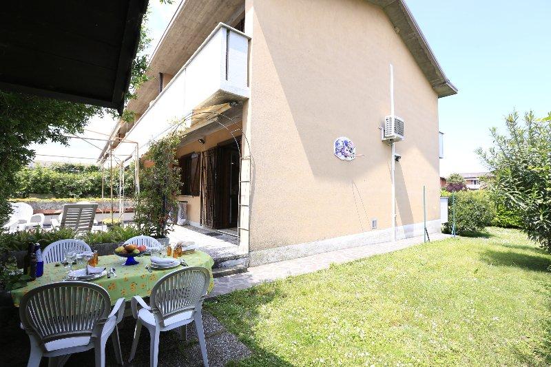 jardín privado de la propiedad