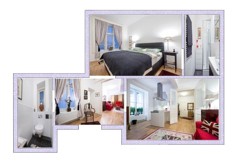 60 msq 1 Bed Apartment at mezzanine floor
