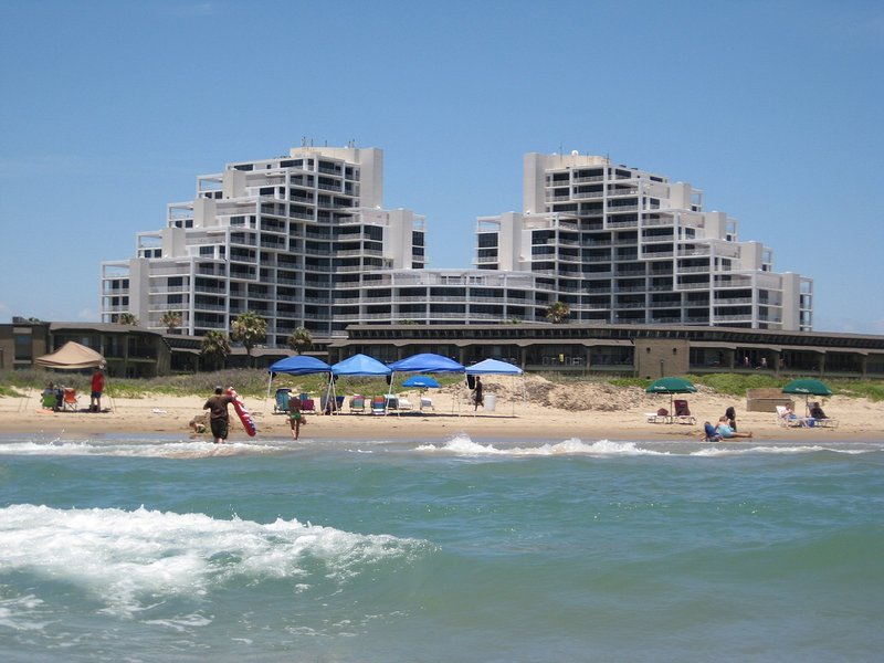Our Signature Resort as seen from the beach.