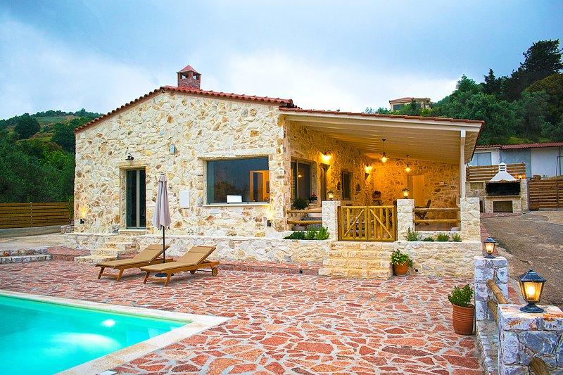 Villa Merina, location de vacances à Malaxa