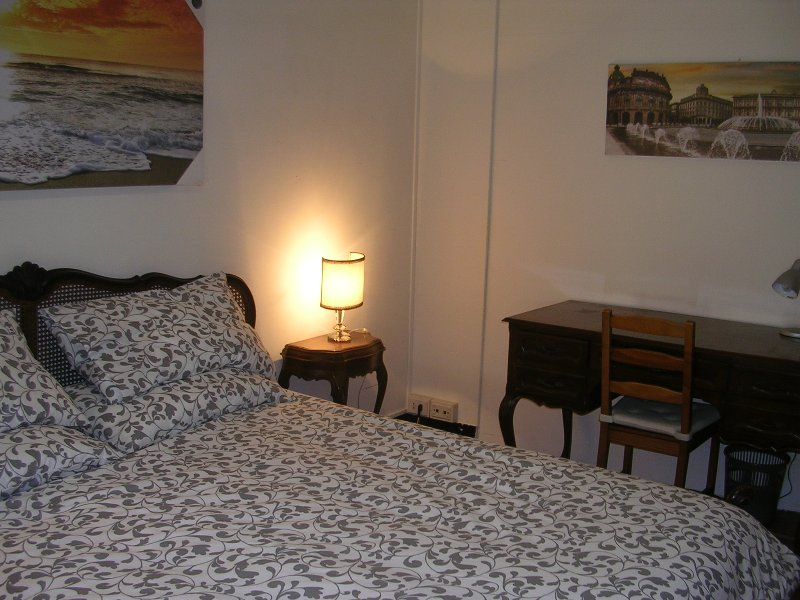 View of a second double room, with separable  beds.