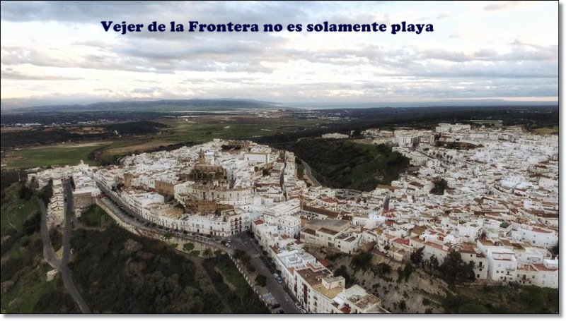 Aerial view of Vejer