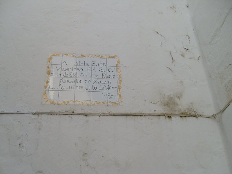 commemorative plaque on a street