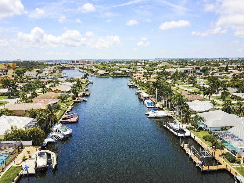 Belle vue sur le canal