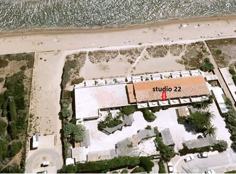 Aerial view of the residence