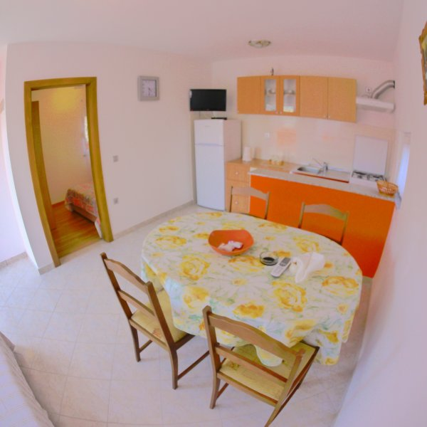 Lovely Family Apartment with Terrace in Zaton, location de vacances à Zaton