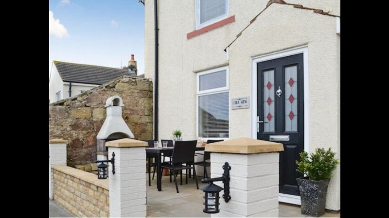Seaview cottage, vacation rental in Newbiggin-by-the-Sea
