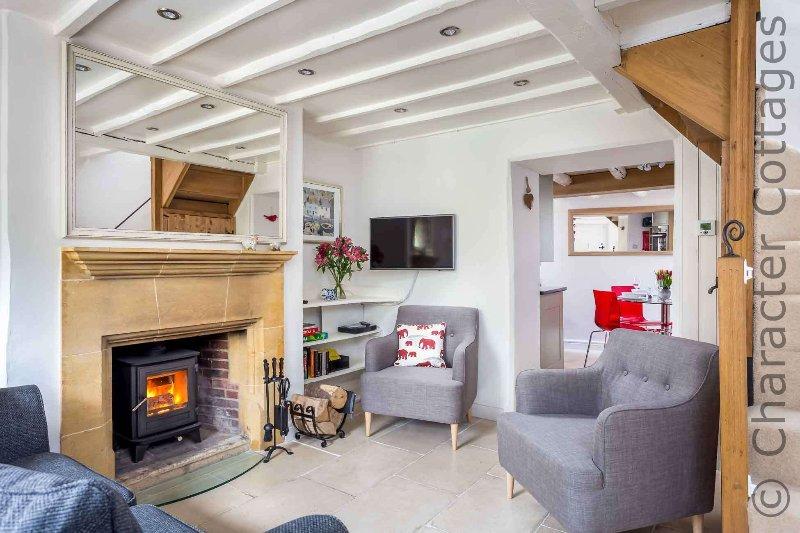 Beautifully presented living room