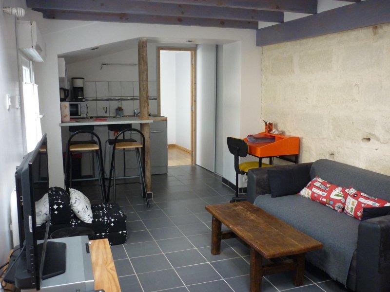 Appartement indépendant à Amboise, location de vacances à Reugny