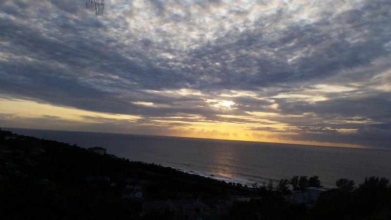 Nossa magnífica vista do Oceano Índico