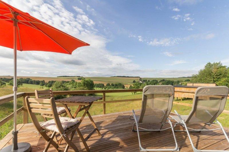 Gite contemporain en pleine campagne, location de vacances à Recey-sur-Ource