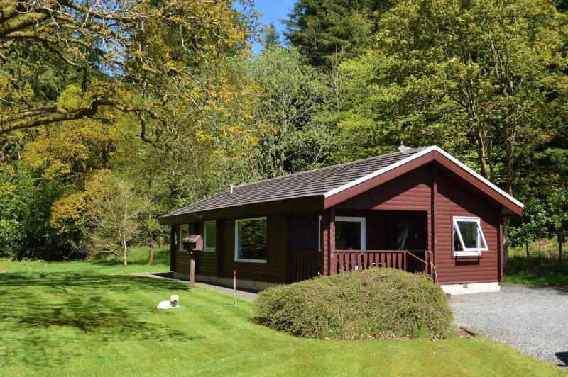 Ard Darach Lodge, peaceful location, stunning views, extensive walking nearby, location de vacances à Rashfield