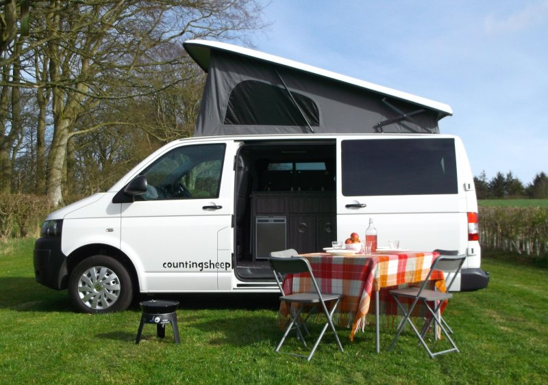 campervan hire scotland, holiday rental in Chirnside