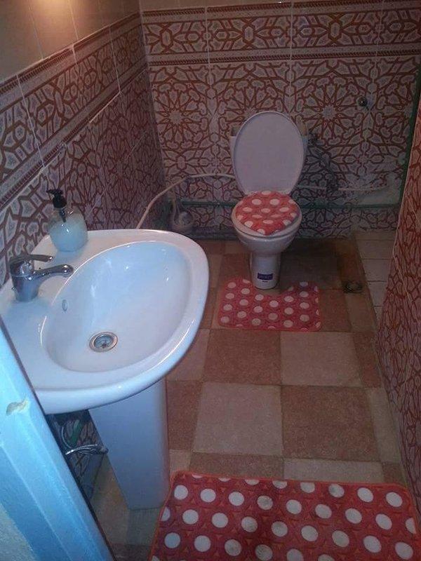 Toilette + douche