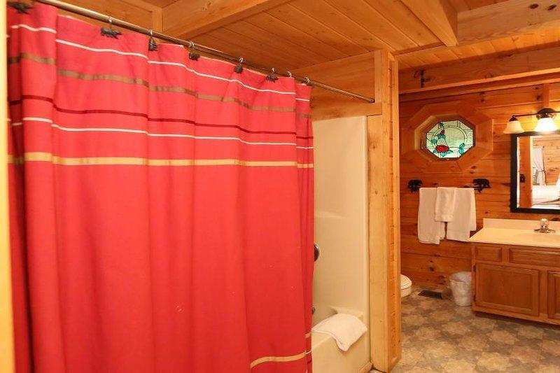 Full badrum på entréplan