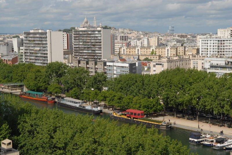 Location studio vue panoramique sur Paris, vacation rental in Paris
