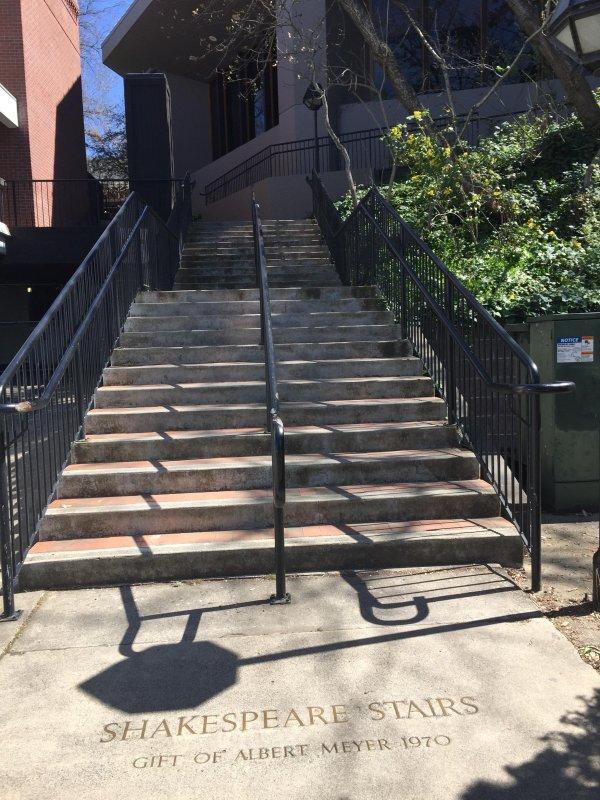 Shakespeare steps