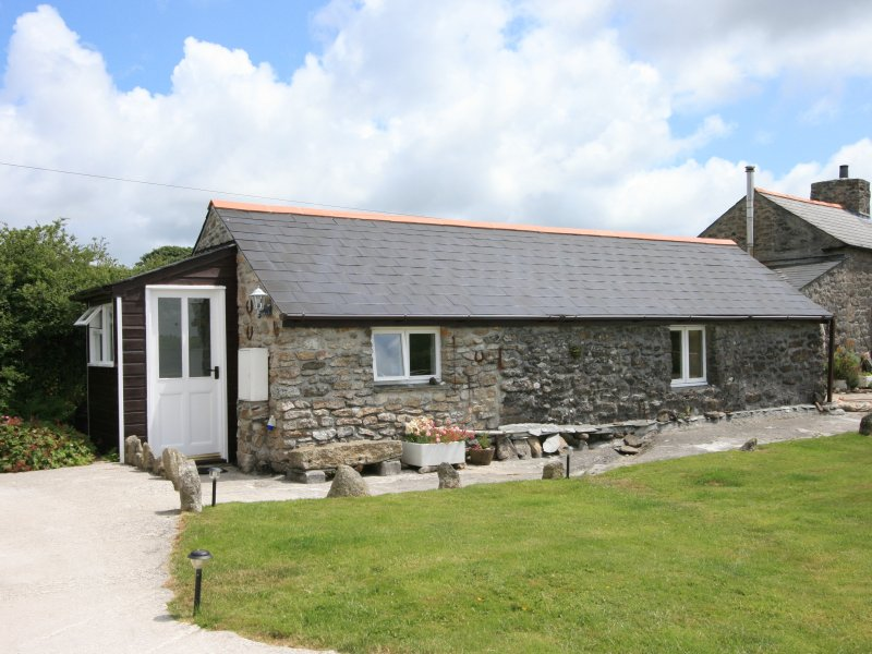 The Bothy - please note that solar panels have been added to roof since image taken