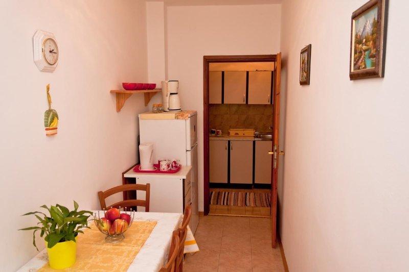 A4 prvi kat do vrta (4): kitchen and dining room