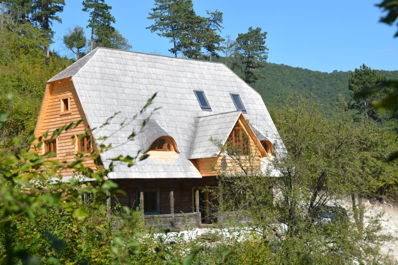 Traditional Transylvanian house in Sunset Mountains near Turda, Cluj, holiday rental in Viisoara
