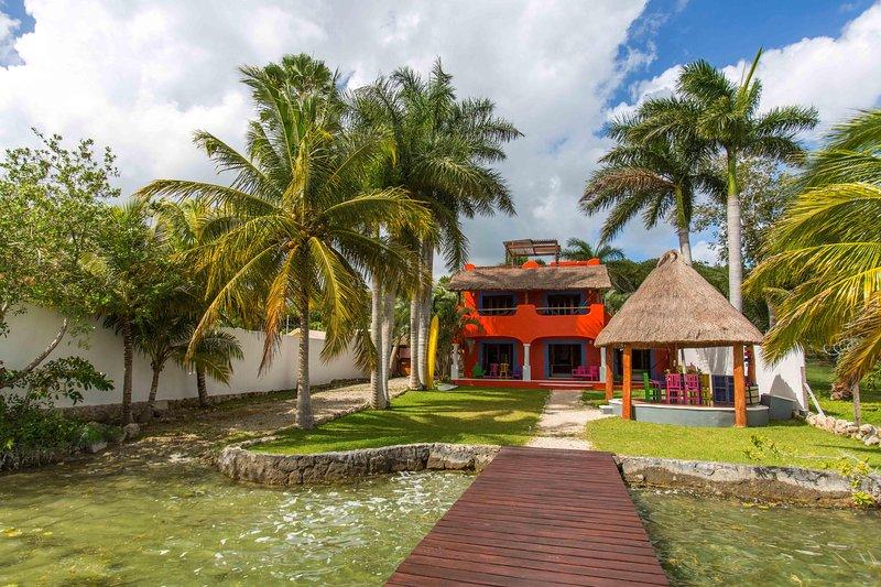 Tree House te bekijken van de lagune