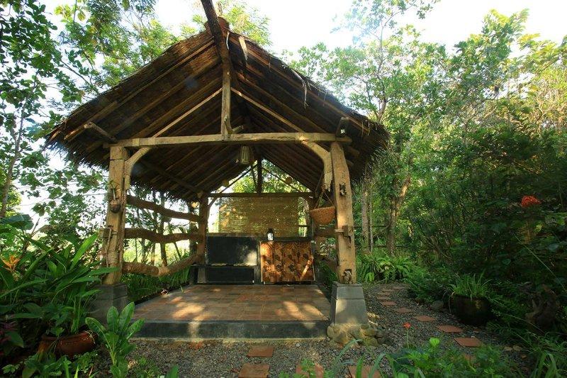 cabane de yoga pour l'exercice et la méditation