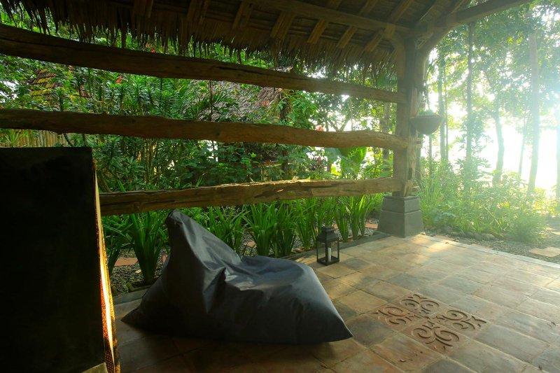 cabane de yoga aussi agréable pour se détendre