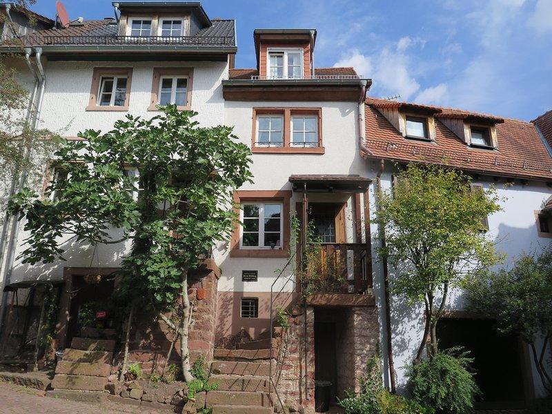 Historisches Ferienhaus 'Veste Dilsberg' bei Heidelberg, alquiler de vacaciones en Neckarsteinach
