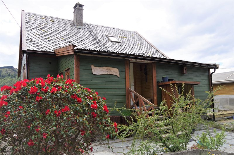 Wooden house by the fjords - Acu Rem Tetigisti, holiday rental in Fotlandsvag