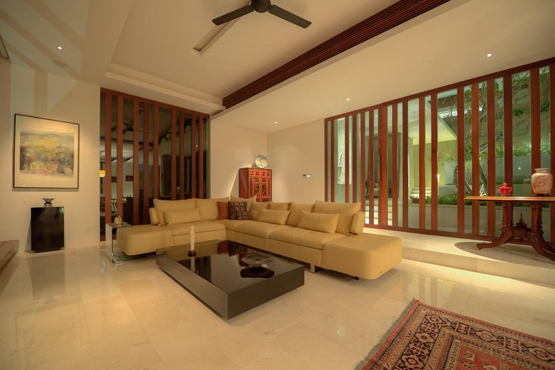 Living Room - Luxury Retreat in midst of Bali !