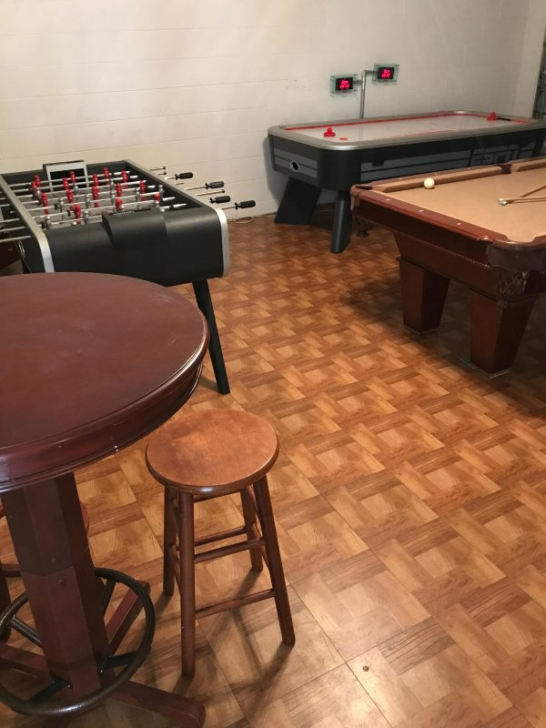 Drum up some friendly competition in the games room