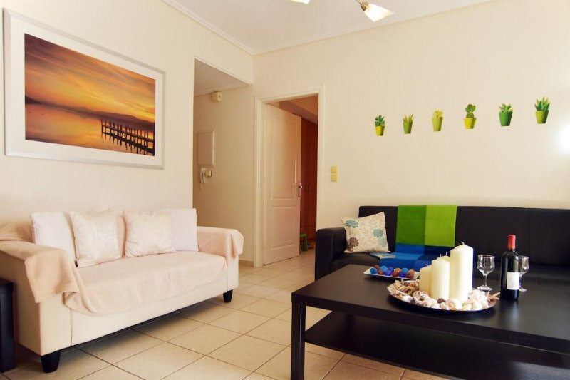 Alkyonis, furnished apartment, holiday rental in Thermisia