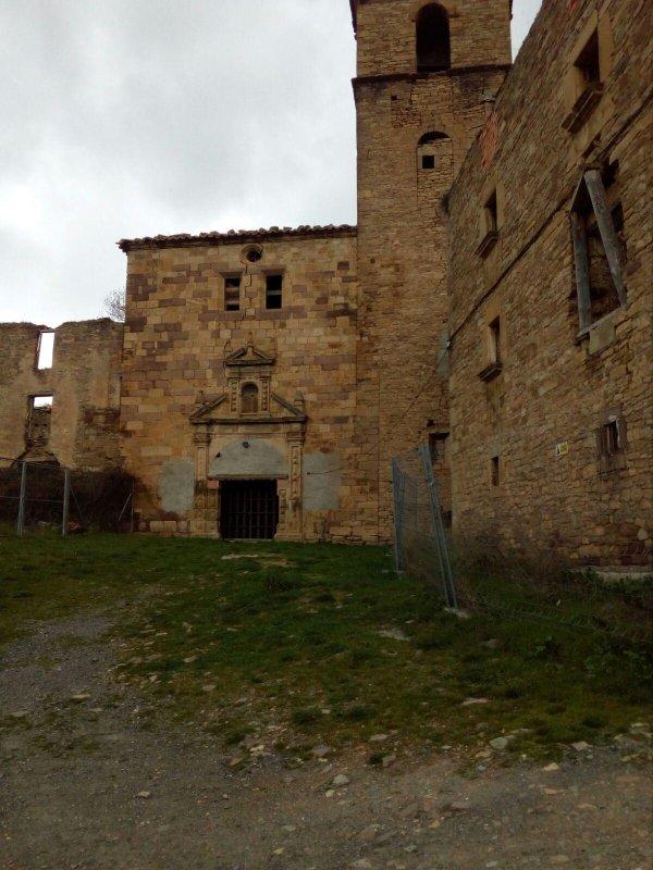 Ruinas de la Iglesia de la Asunción.