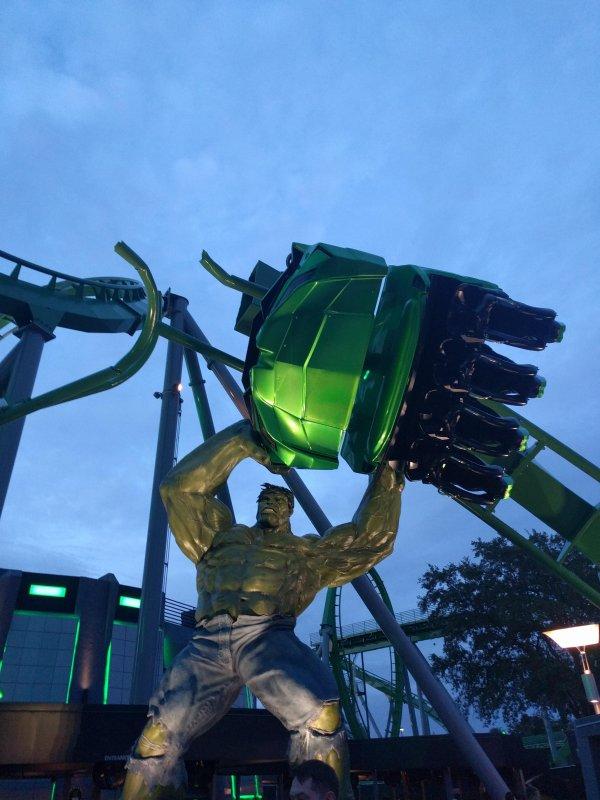 paseo Hulk en Universal