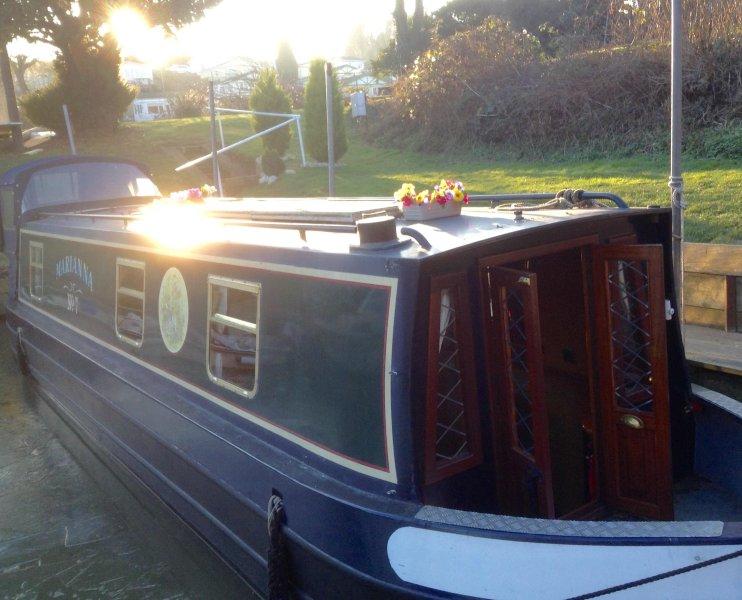 Narrowboat Marianna
