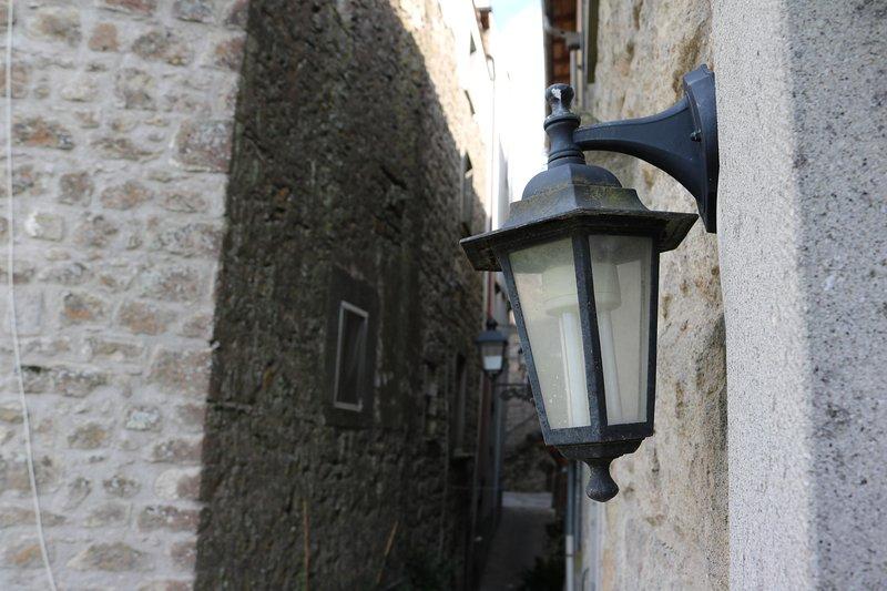 De lantaarn op de overloop