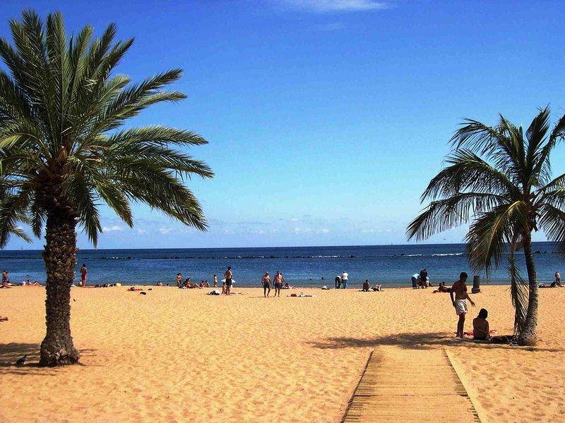 Playa de Las Teresitas is only 10 min away by bus