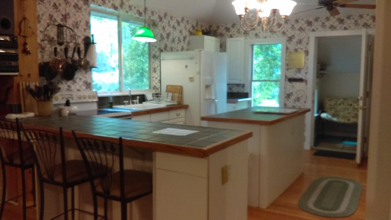 """Summer Dream' 15 Secluded Acres, Pool Hottub, Near Lake MI!, holiday rental in Bangor"