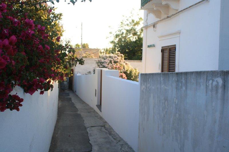 Street front of Casa Galletta