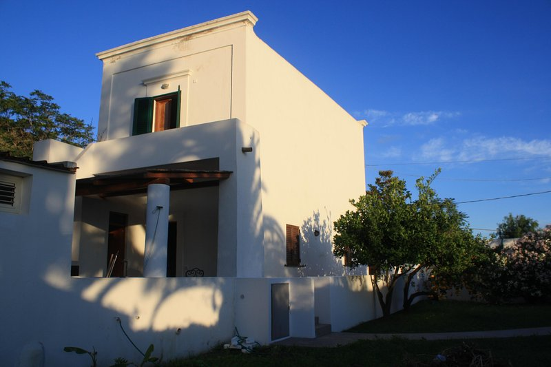 Casa Galletta is a classic two story Aeolian Island building