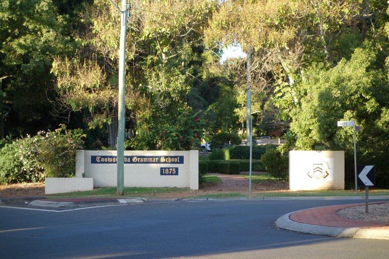 Toowoomba Grammar School - 1 minute walk (you can hear the bell!!)