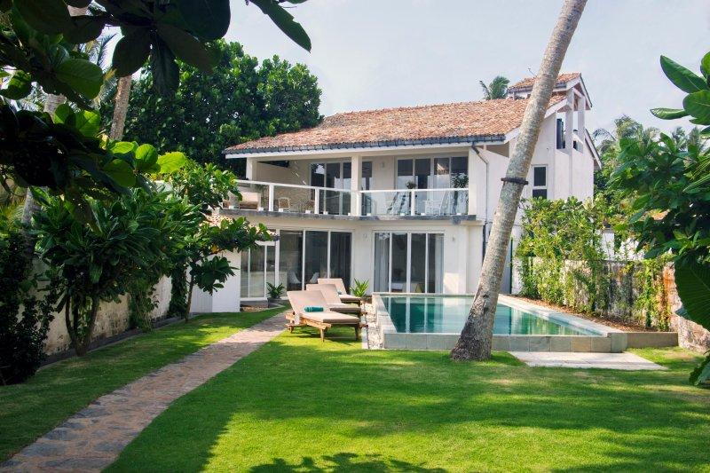 jardin et piscine 10 m