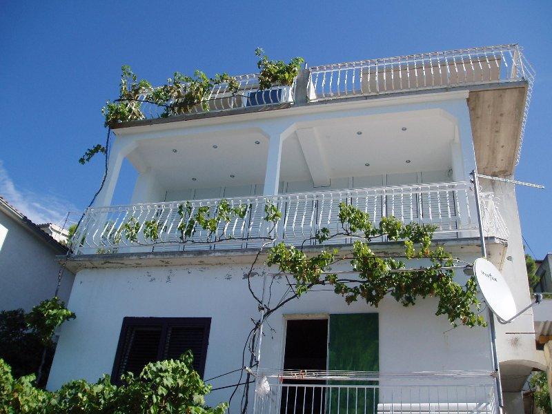 balcón del primer piso