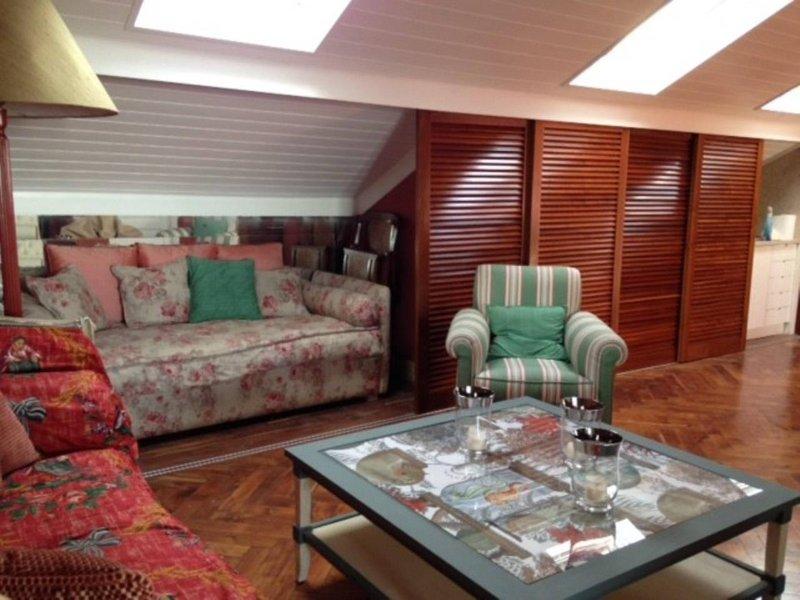 derde niveau: grote woonkamer