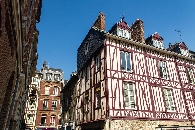 Loue charmant T2 au coeur du quartier historique, alquiler de vacaciones en Le Grand-Quevilly
