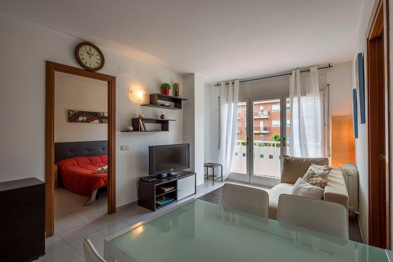 Apartamento 2 Habitaciones - Girona – semesterbostad i Quart